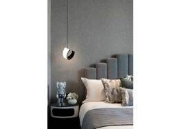 Κρεμαστό φωτιστικό LED ημικυκλικό Ø18cm