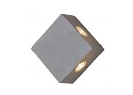 Τετράγωνη απλίκα τετραπλής φωτεινής κατεύθυνσης