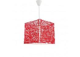 Μοντέρνος χρωματιστός κρεμαστός κύβος 30x30cm από plexiglass