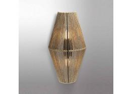 Δίφωτη απλίκα από σχοινί 60cm