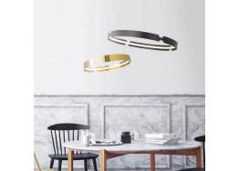 Κυκλικό φωτιστικό LED 3000Κ από αλουμίνιο