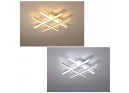 Φωτιστικό οροφής τρίλιζα 70x70cm LED dimmable