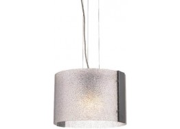 Κρεμαστό φωτιστικό Ø30cm με κρυσταλλιζέ γυαλί