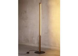 Ξύλινο γραμμικό φωτιστικό δαπέδου 120cm LED 3000K