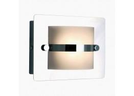 Ορθογώνια απλίκα μπάνιου χρώμιο LED 4000K