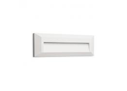 Ορθογώνια απλίκα οριζόντιας τοποθέτησης LED