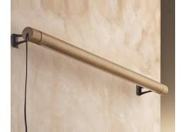 Ξύλινο γραμμικό φωτιστικό τοίχου 106cm LED 3000K