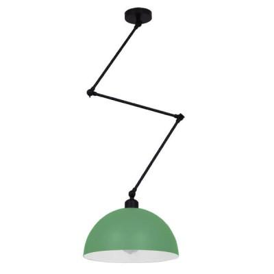 Μοντέρνο Φωτιστικό Οροφής Μονόφωτο Ματ Μεταλλικό Καμπάνα Ø30x21cm