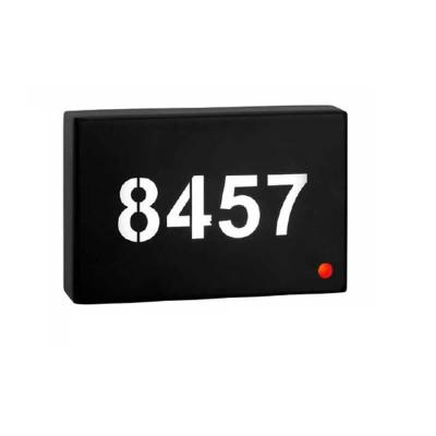 Απλίκα LED 18x12cm για αναγραφή αριθμού δωματίου