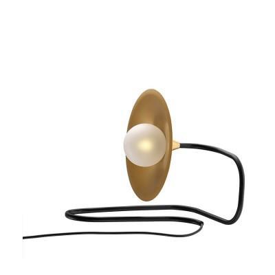 Πορτατίφ σε σχήμα φιδιού με πιάτο Ø35cm και 150cm καλώδιο
