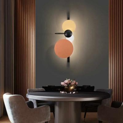 Απλίκα τοίχου LED 35x85xm με 3 δίσκους