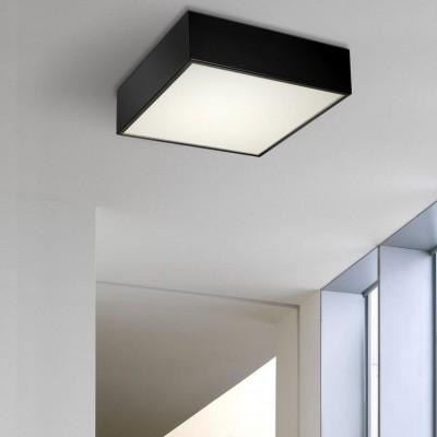 Τετράφωνη πλαφονιέρα οροφής LED