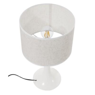 Λευκό μίνιμαλ πορτατίφ μεταλλικό με καπέλο φ25cm
