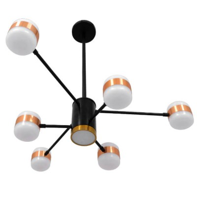 Μοντέρνο Πολύφωτο LED Οροφής Ø63