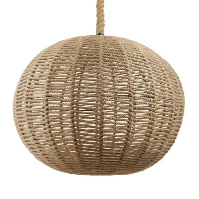 Μπάλα από πλέγμα με μπεζ σχοινί Φ60cm
