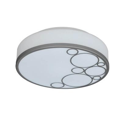 Γυάλινη πλαφονιέρα οροφής με σχέδια κύκλους
