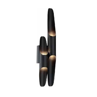 Απλίκα LED με διπλό σωλήνα