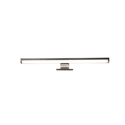 Γραμμική απλίκα καθρέφτη LED χρώμιο