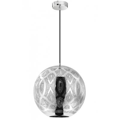 Κρεμαστή μπάλα χρώμιο σε μαροκινό στυλ