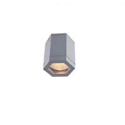 Στεγανό φωτιστικό οροφής πολυγωνικό Φ13x14cm E27 PAR30