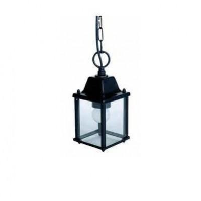 Κρεμαστό φωτιστικό φανάρι 10x10cm εξωτερικού χώρου