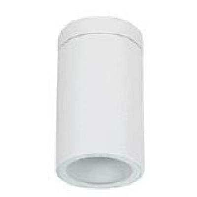 Λευκό σποτ οροφής Ø6cm σε κυλινδρικό σχήμα
