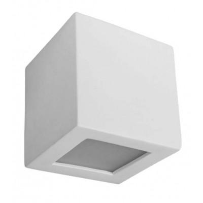 Γύψινος επίτοιχος κύβος 8x8cm