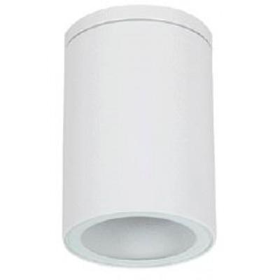 Λευκό κυλινδρικό σποτ οροφής Ø11cm