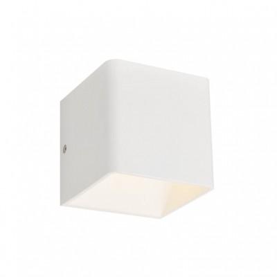 Απλίκα LED Up&Down διακοσμητικού φωτισμού κύβος 10x10cm