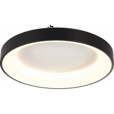 Φωτιστικό οροφής LED μεταλλικό στρογγυλό Ø46cm