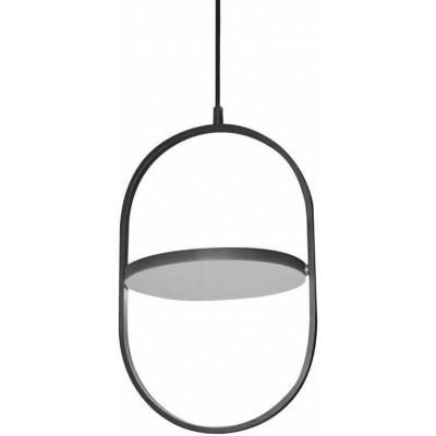 Οβάλ περιστρεφόμενο κρεμαστό φωτιστικό Ø23x36cm LED dimmable