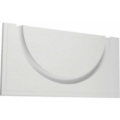 Γύψινο χωνευτό trimless ημικύκλιο 42x84cm με υποδοχή για λεντοταινία