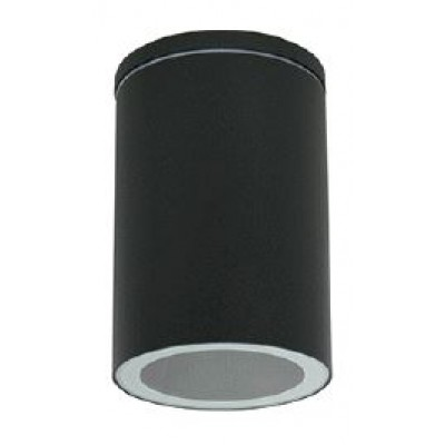 Μαύρο κυλινδρικό σποτ οροφής Ø11cm