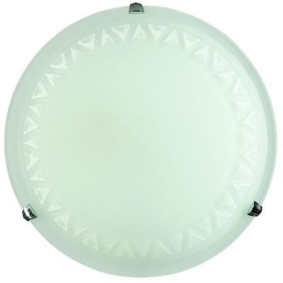 Πλαφονιέρα οροφής γυάλινη με ντουί Ε27