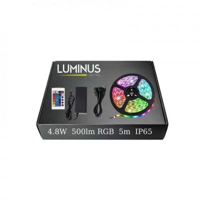 Έτοιμο σετ λεντοταινία RGB στεγανή IP65 5m 4.8W