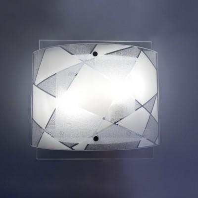 Φωτιστικό 31cm με διπλό γυαλί και μοτίβο ACA