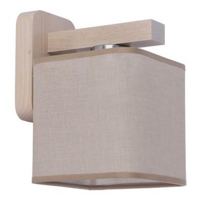 Απλίκα Ø18cm με ξύλινη βάση