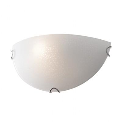 Απλίκα Ø30cm με μοτίβο στο γυαλί ACA