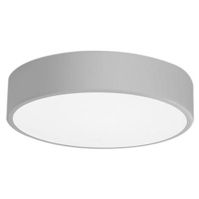 Πλαφονιέρα οροφής LED 24W Ø40cm γκρι