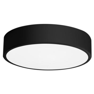 Πλαφονιέρα οροφής LED 24W Ø40cm μαύρη