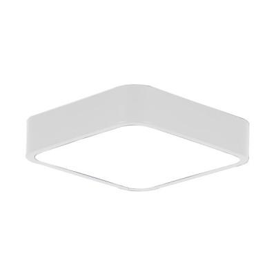 Πλαφονιέρα οροφής LED 21W 30x30cm λευκή