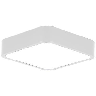 Πλαφονιέρα οροφής LED 24W 40x40cm λευκή