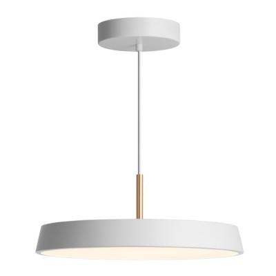 Κρεμαστό φωτιστικό LED με λευκό πιάτο Ø40cm