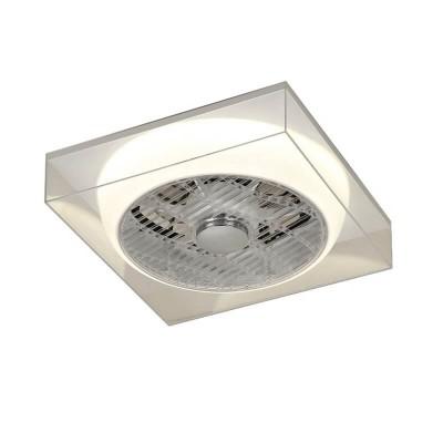 Τηλεχειριζόμενος ανεμιστήρας οροφής BOX 40x40cm LED DIMMABLE