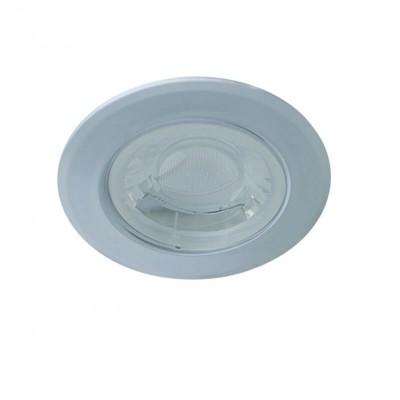 Στεγανό χωνευτό σποτ μεταλλικό LED 3000K Ø7.8cm