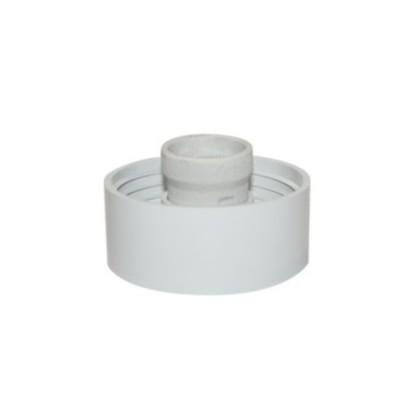 Απλίκα γαλακτερός πλαστικός γλόμπος με ευθεία βάση
