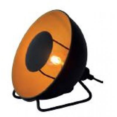 Επιτραπέζιο φωτιστικό με δίχρωμη καμπάνα Ø20x20cm