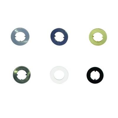 Χωνευτό σποτ μπετού με δαχτυλίδι από ανοξείδωτο ατσάλι E14 Ø9.5cm
