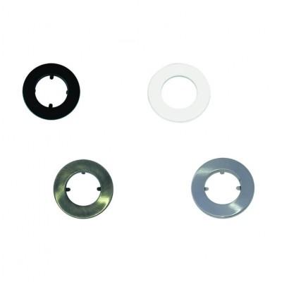 Χωνευτό σποτ μπετού με δαχτυλίδι από ανοξείδωτο ατσάλι E27 Ø12.5cm