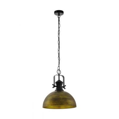 Κρεμαστή καμπάνα Ø40cm vintage χρυσαφί-μπρονζέ